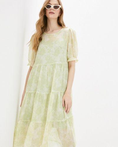 Платье - зеленое Ichi