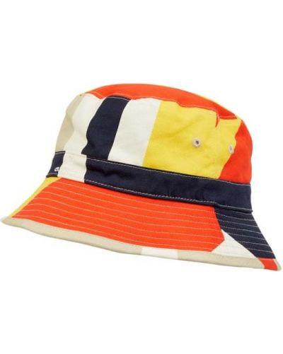 Niebieska czapka bawełniana Gant