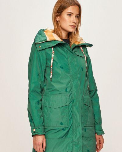 Куртка с капюшоном с карманами утепленная Femi Stories