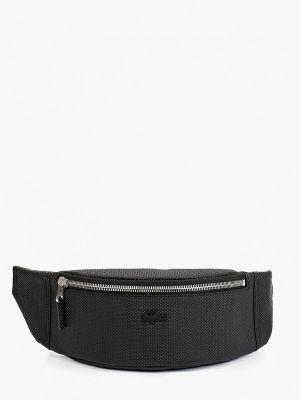 Черная зимняя сумка Lacoste