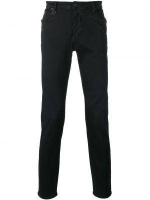 Mom jeans bawełniane - czarne Neuw