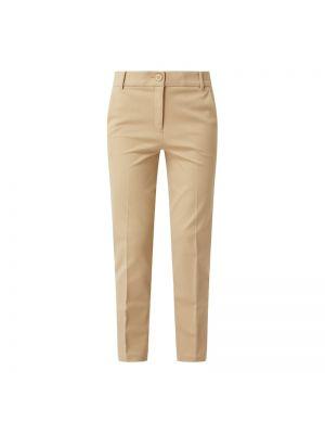 Beżowe spodnie materiałowe Esprit Collection