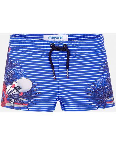 Плавки синие Mayoral