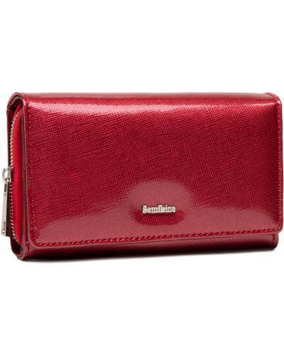 Czerwony portfel Semi Line