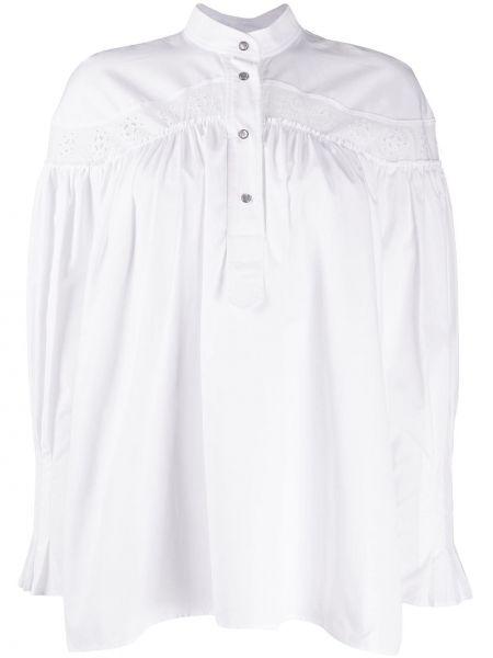 Bluzka koronkowa z długimi rękawami sznurowana Cedric Charlier