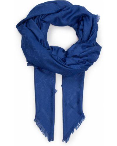 Niebieski szal Elisabetta Franchi