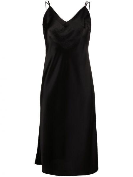 Открытое черное платье с открытой спиной Ssheena