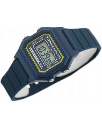Niebieski klasyczny zegarek Xonix