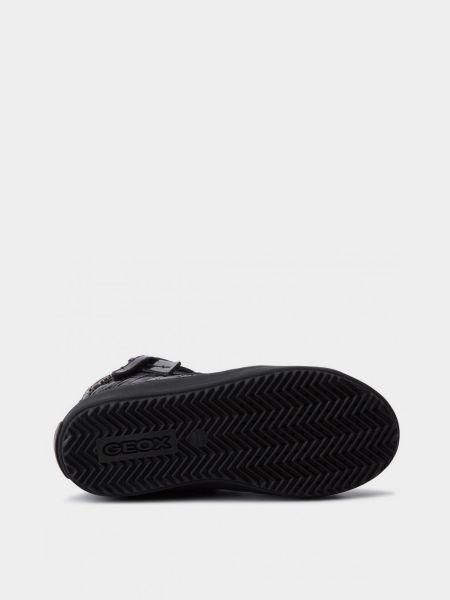 Ботильоны на шнуровке - черные Geox