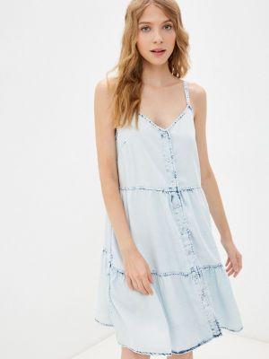 Голубое весеннее платье Gap