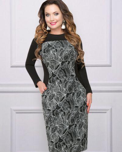 Деловое платье трикотажное лапша Charutti