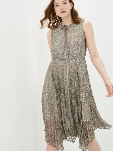 Бежевое платье Adl