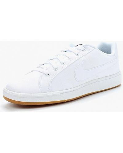 Белые низкие кеды Nike
