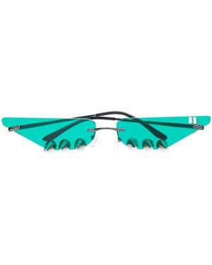 Черные солнцезащитные очки металлические Barbara Bologna