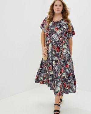 Платье прямое фиолетовый Артесса