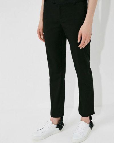 Черные брюки прямые Frankie Morello