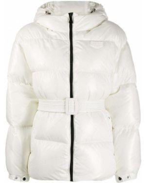 Куртка с капюшоном мятная Duvetica