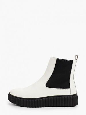 Белые ботинки осенние O-live Naturalle