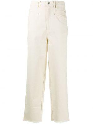 Прямые джинсы классические - белые Isabel Marant
