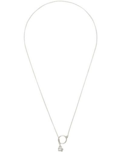 Naszyjnik łańcuch srebrny Faris