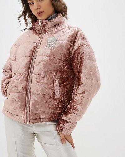 Утепленная куртка - розовая Miss Miss By Valentina