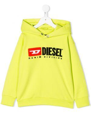 Толстовка желтый Diesel Kids