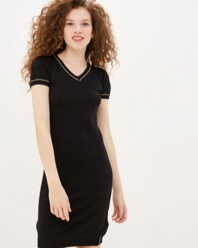 Прямое платье - черное Sh