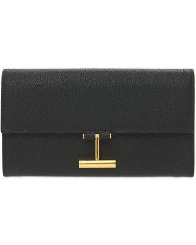 Кожаный кошелек на молнии Tom Ford