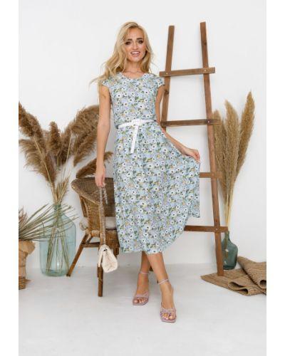 Платье из штапеля Leleya