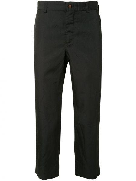 Czarne spodnie z paskiem Comme Des Garcons Homme Plus