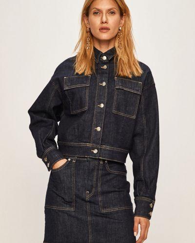 Укороченные джинсы mom с манжетами Pepe Jeans