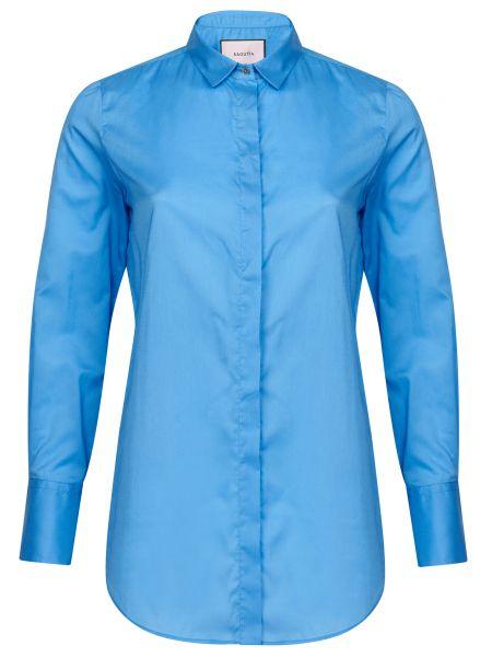 Хлопковая рубашка - голубая Bagutta