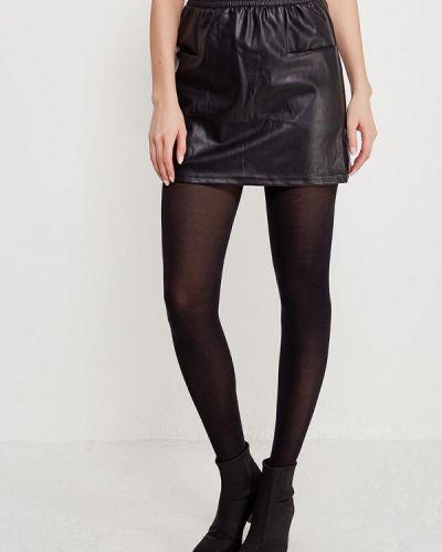 Черная юбка мини Noisy May