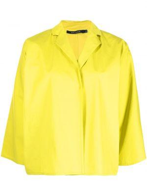Прямой желтый пиджак с воротником Sofie D'hoore