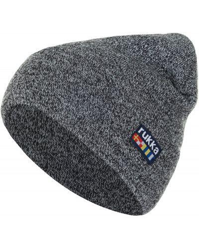 Серая шапка спортивная Rukka