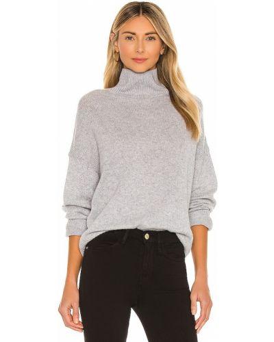 Ватный шерстяной свитер с декольте 360cashmere