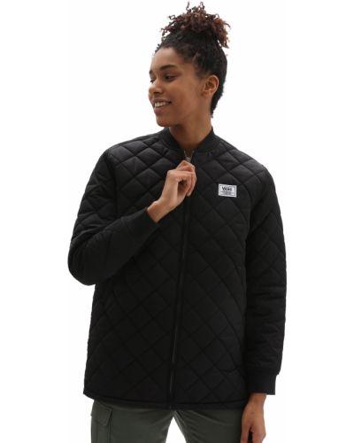 Черная водонепроницаемая куртка Vans