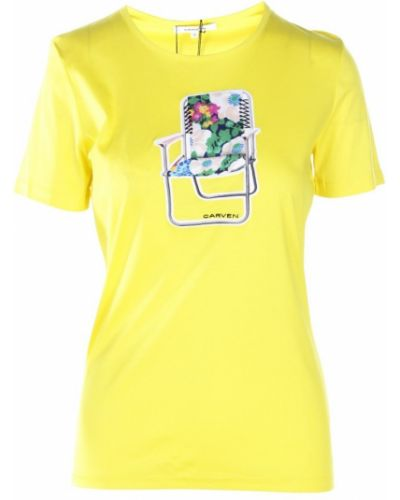 Żółta t-shirt Carven