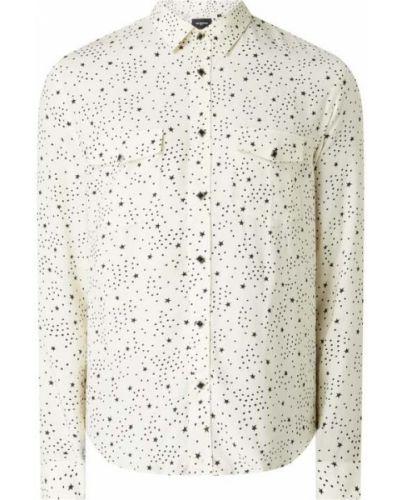 Biała koszula z długimi rękawami - biała The Kooples