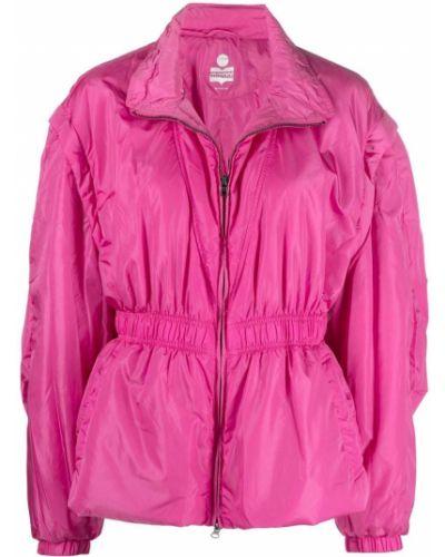 Розовая приталенная куртка Isabel Marant