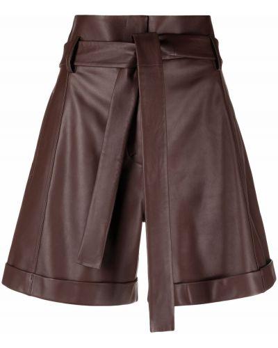 Кожаные шорты с карманами с манжетами Dorothee Schumacher