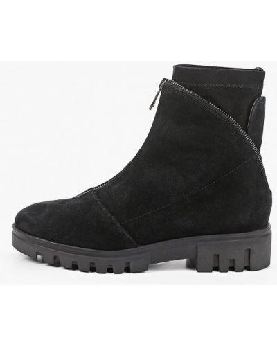 Черные ботинки Enzo Logana
