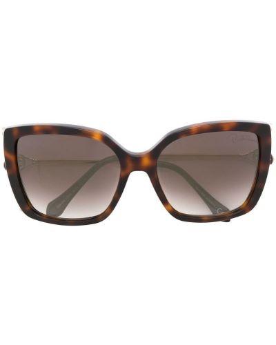 Солнцезащитные очки металлические с градиентом Roberto Cavalli