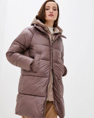Коричневая утепленная куртка Fadjo