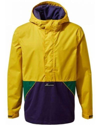 Куртка - желтая Craghoppers