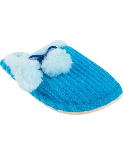 Тапочки искусственный синий Forio