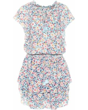 Sukienka letnia mini z falbankami Poupette St Barth