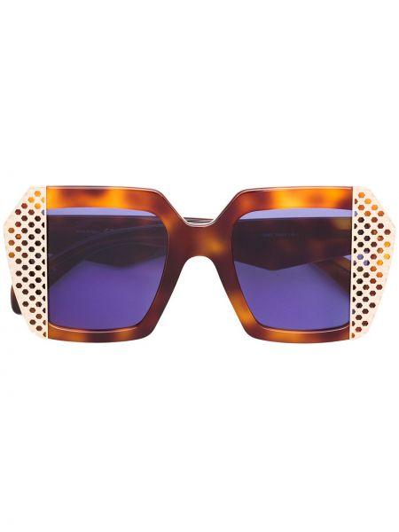 Солнцезащитные очки металлические хаки Oxydo