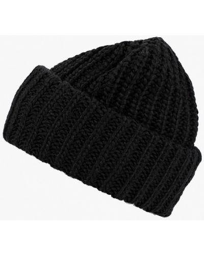 Черная шапка осенняя Flioraj