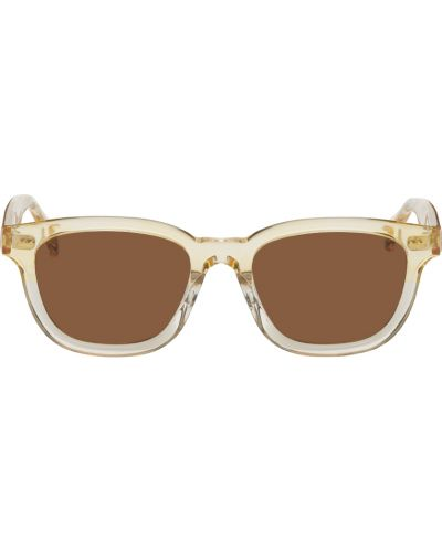 Okulary srebrne - żółte Raen